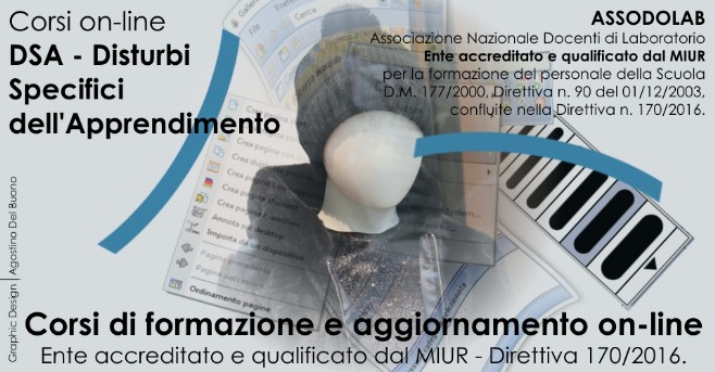 Corso DSA, Disturbi Specifici dell'Apprendimento by Assodolab